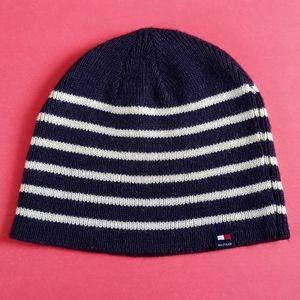 Vintage Tommy Hildiger Striped Winter Hat